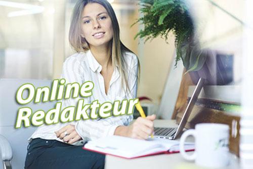 Online Redakteur gesucht