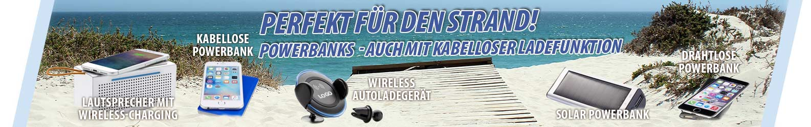 Kabelloses Laden mit Wireless Charging Powerbanks