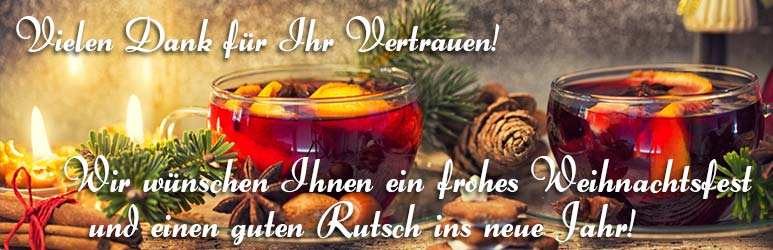 Wir wünschen Ihnen einen schönen und gemütlichen Advent