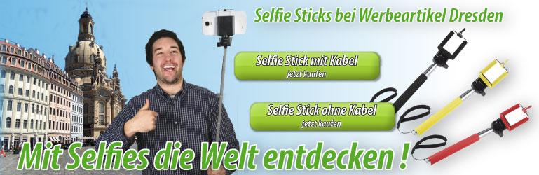 Selfie Sticks mit Logo bedrucken