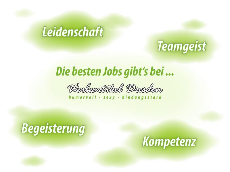 vakante Jobs bei Werbeartikel Dresden