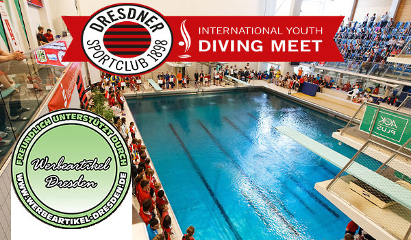"Das ""Youth Diving Meet"" in Dresden mit Werbeartikel Dresden"