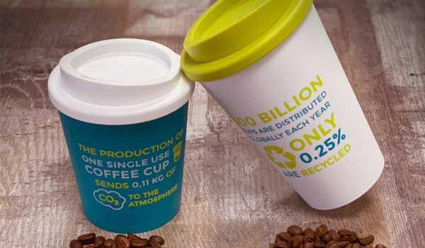 Nachhaltig trotz Plastik – die Americano Coffee to go Becher
