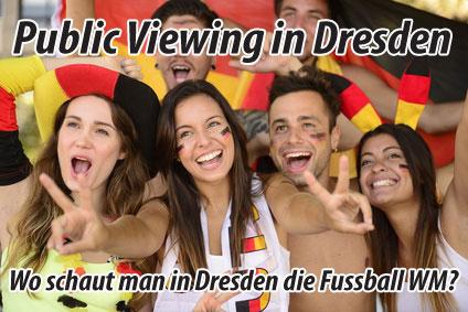 Public Viewing in Dresden