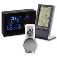 Wetterstationen und Thermometer