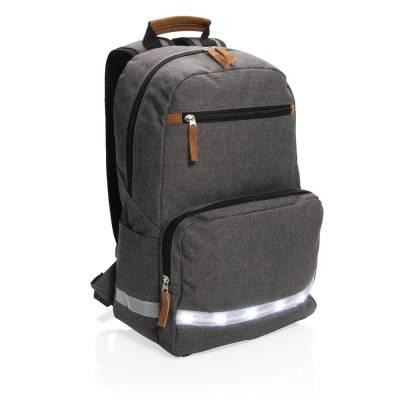 e197fdaffad06 14 Zoll Laptop Rucksack City - grau als Werbegeschenke mit Logo ...