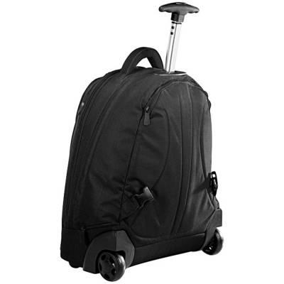 17 Zoll Laptop Trolley Rucksack-schwarz