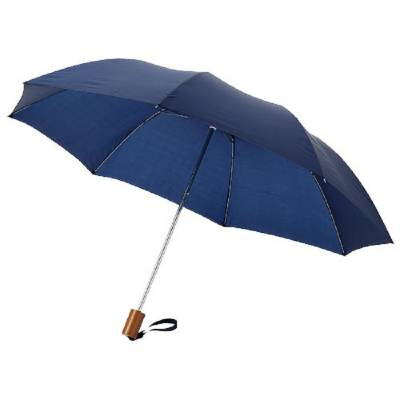 20 Zoll Oho Schirm mit 2 Segmenten-blau(navyblau)