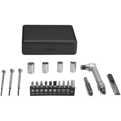 20 teilige Werkzeugbox-schwarz