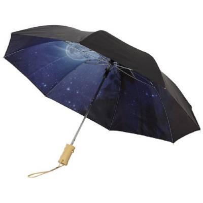 21 Zoll automatischer Regenschirm Clear Night