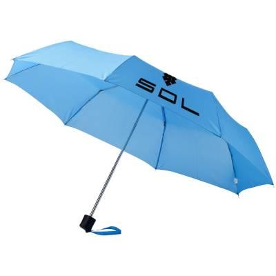 21,5 Zoll Ida Schirm mit 3 Segmenten-blau