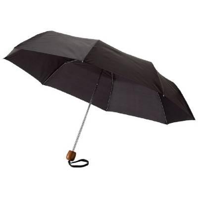 21,5 Zoll Lino Schirm mit 3 Segmenten-schwarz