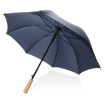 23 Zoll RPET Schirm mit automatischer Öffnung-blau(navyblau)