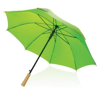 23 Zoll RPET Schirm mit automatischer Öffnung-grün