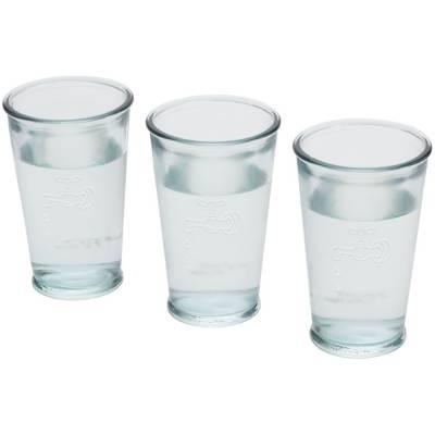 3 Wassergläser Genua-transparent