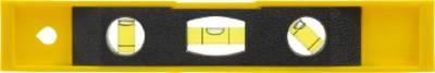 3-in-1 Wasserwaage Bob aus Kunststoff-gelb