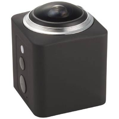 360° Wi-Fi Action Kamera-schwarz