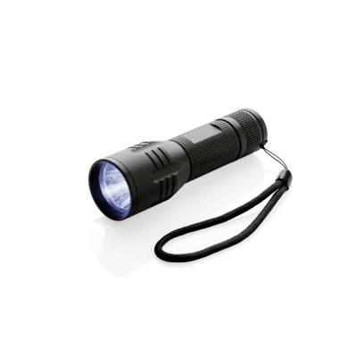 3W Cree Taschenlampe-schwarz
