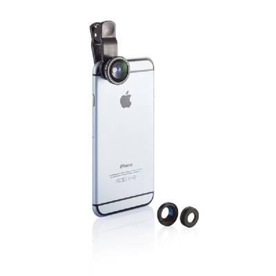 3tlg. Linsenset für mobile Geräte