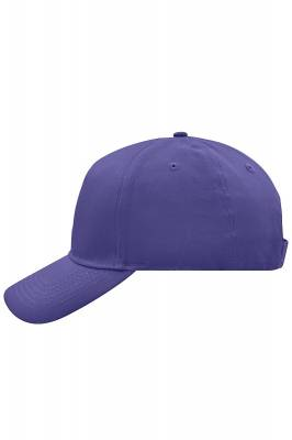5 Panel Cap-MB6117-lila-one size