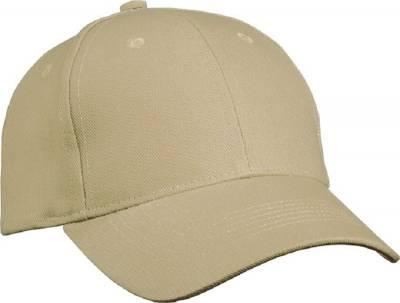 6 Panel Cap Heavy Cotton-MB091-beige-one size