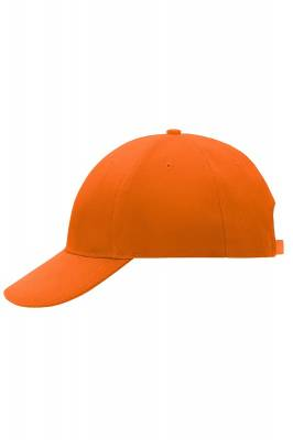 6 Panel Cap Low-Profile-MB018-orange-one size