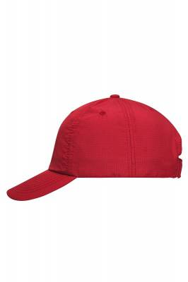 6 Panel Coolmax Cap-MB610-rot-one size