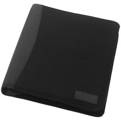 A4 Arbeitsmappe Deluxe-schwarz