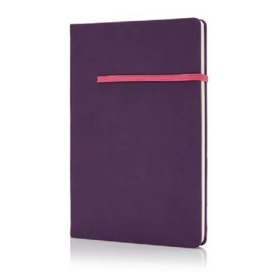 A5 Notizbuch Knittelfeld - rosa