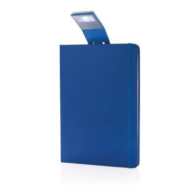 A5 Notizbuch & LED Lesezeichen