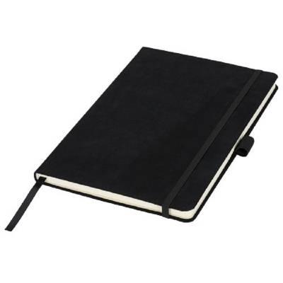 A5-Veloursleder-Notizbuch