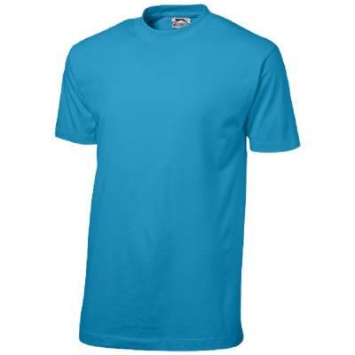 Ace Kurzarm T-Shirt-blau(aquablau)-XL