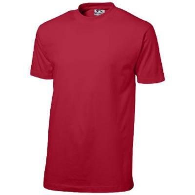 Ace Kurzarm T-Shirt-rot(dunkelrot)-XXXL