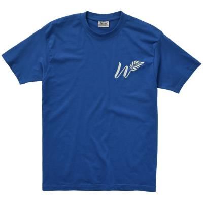 Ace Kurzarm T-Shirt-blau(royalblau)-XL
