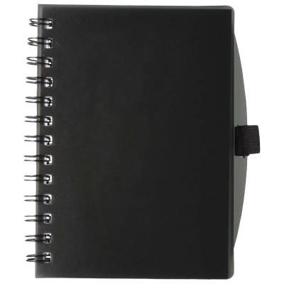 Adler Notizbuch-schwarz