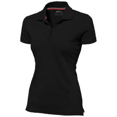 Slazenger Advantage Damen Poloshirt - schwarz - XXL
