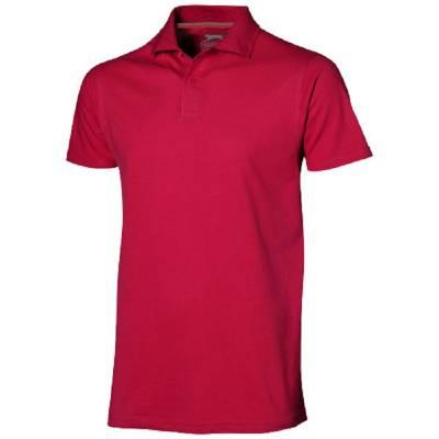 Slazenger Advantage Herren Poloshirt - rot - XXXL