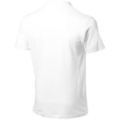 Advantage Kurzarm Poloshirt-weiß-S