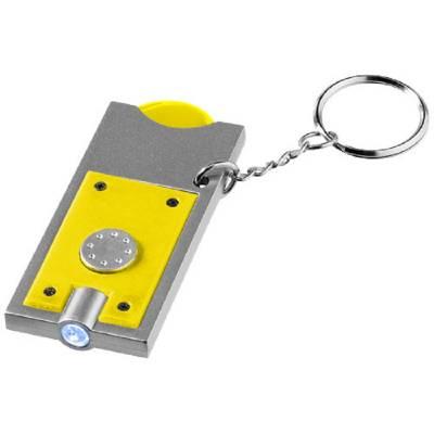 Allegro Schlüssellicht mit Münzhalter - gelb