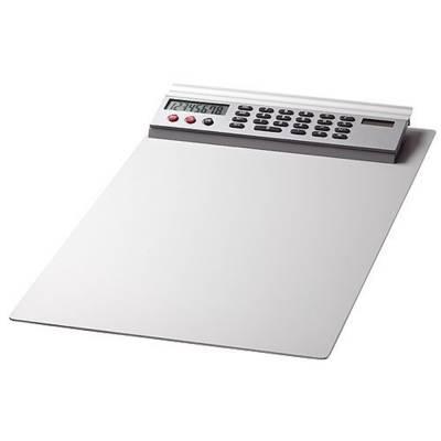 Alu-Schreibbrett mit Rechner