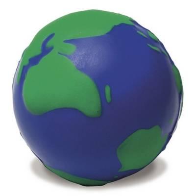 Anti-Stress-Spielzeug Globus-transparent