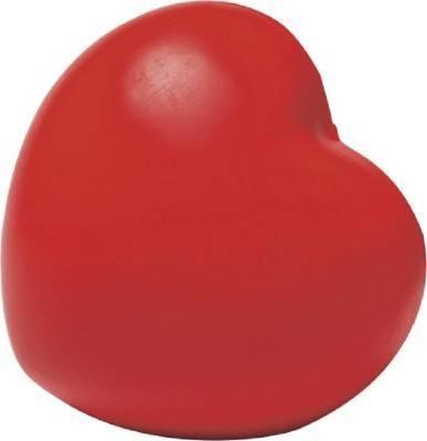 Anti-Stress-Spielzeug Herz-Eigenlager-rot