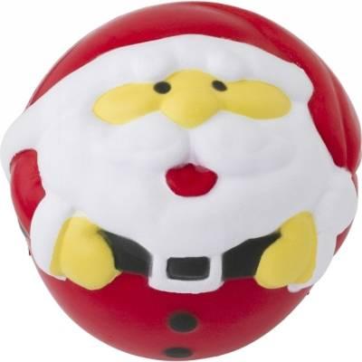 Anti-Stress-Spielzeug Weihnachtsmann-rot