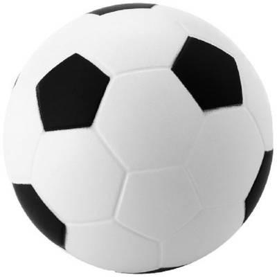 Antistressball Fußball-weiß