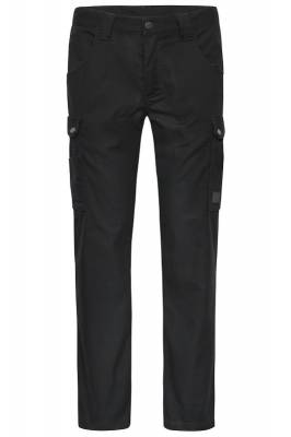 Arbeitshose Cargo Pants-JN877-schwarz-54
