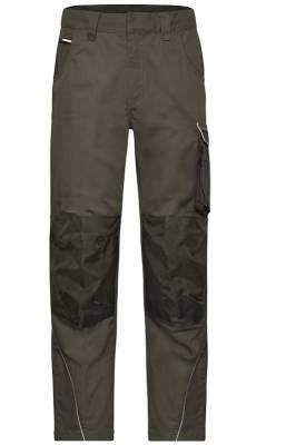 Arbeitshose Pants Solid-JN878-grün(olivgrün)-60