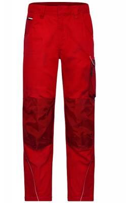 Arbeitshose Pants Solid-JN878-rot-25