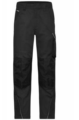 Arbeitshose Pants Solid-JN878-schwarz-54
