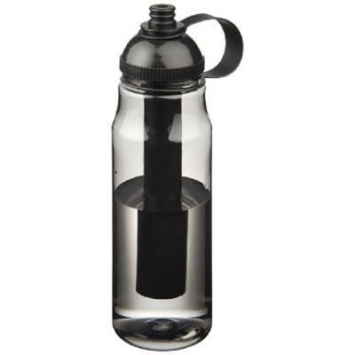 Arctic Flasche mit Eisbehälter-schwarz