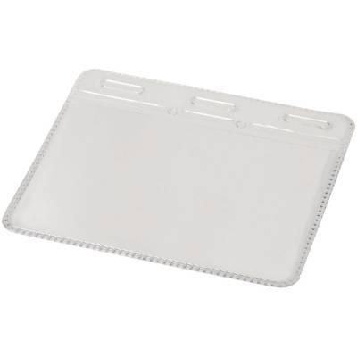 Arell transparente Ausweishülle aus Kunststoff-transparent